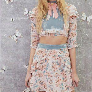 Blossom crop top